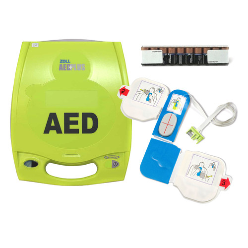 ZOLL Fully Automatic AED Plus (AED + Pads + Battery) (8000-004007-01)