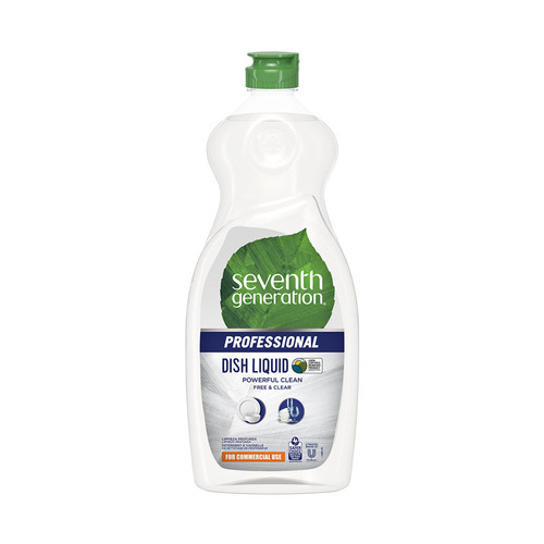 Dishwashing Liquid, Free and Clear, 25 oz (12/case) (SEV44718CT)