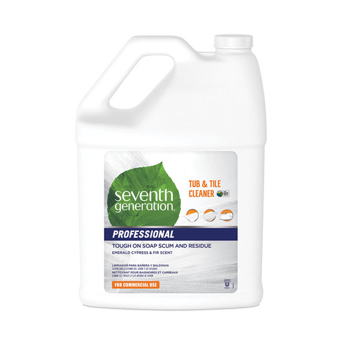 Tub and Tile Cleaner, Emerald Cypress and Fir, 1 gallon (2/case) (SEV44722CT)