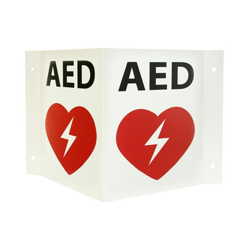 AED 3D Wall Sign