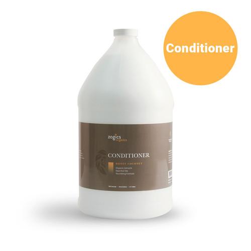 Zogics Organics Conditioner, Honey Coconut, OCHC128 (1 Gallon or Case of 4)