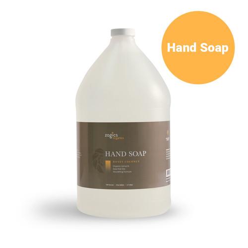Zogics Organics Hand Soap, Honey Coconut