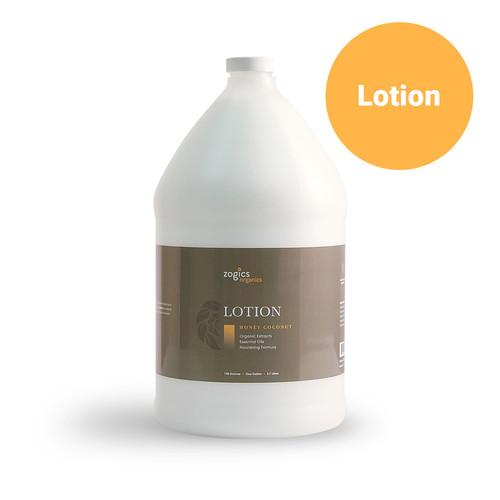 Zogics Organics Lotion, Honey Coconut