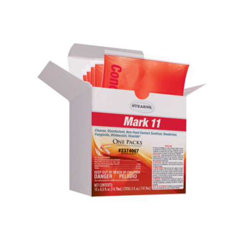 Mark 11 Concentrated Disinfectant Packets - Box