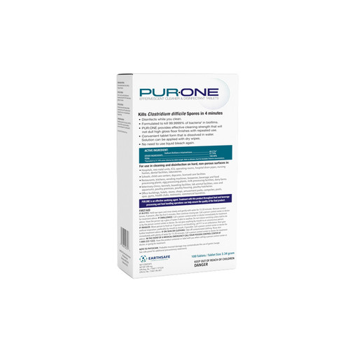 PUR:ONE ESPO3.3G Commercial Disinfecting Tabs (100 tablets/carton)