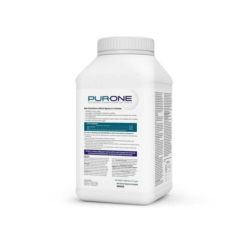 PUR:ONE ESPO13.1GLP Commercial Disinfecting Tabs (256 tablets/tub)
