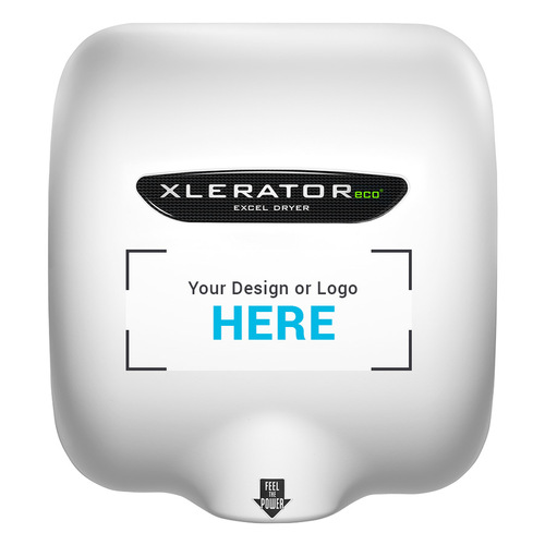 XLERATOReco Hand Dryer, Custom Special Image, XL-SI-ECO