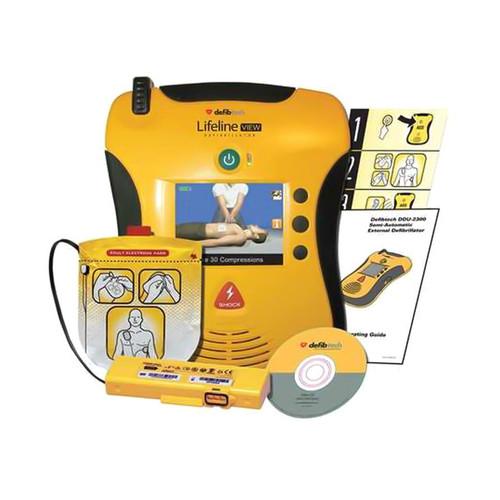 Defibtech Lifeline View Semi-Automatic AED Standard Bundle (DCF-A2310RX)
