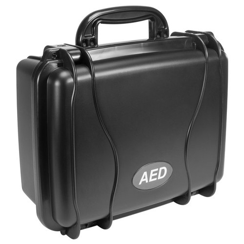 Defibtech AED Standard Hard Carrying Case, Black, DAC-110