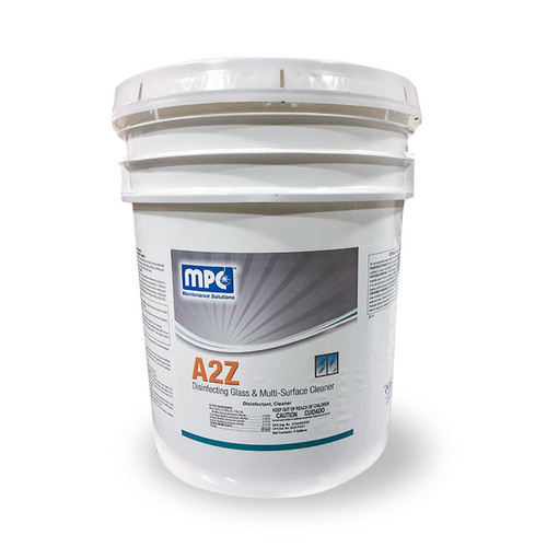 A2Z Disinfecting Glass & Multi-Surface Cleaner, Lemon Scent, MC105021 (5 gallons)