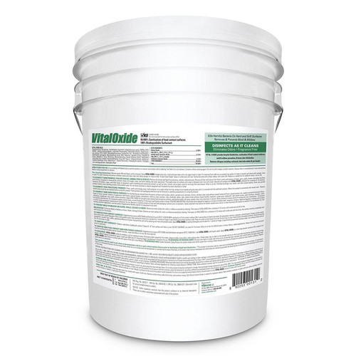 VitalOxide Commercial Mold Remover & Surface Disinfectant, VO9500 (5 gallons)