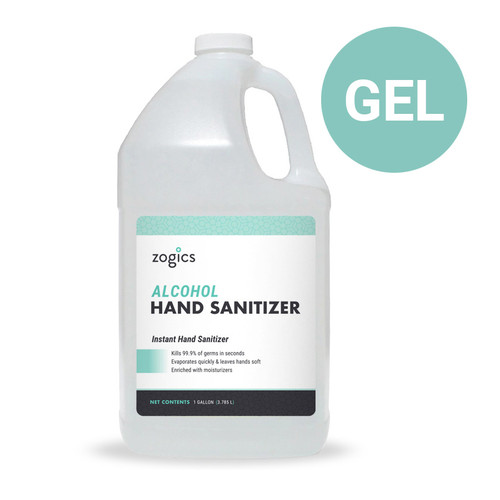 60% Alcohol Gel Hand Sanitizer Wholesale, Fragrance-Free, ZHSG128 (1 gallon)