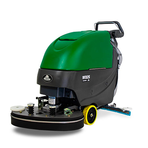 Bulldog Walk-Behind Multi-Surface Commercial Floor Scrubber, WD26