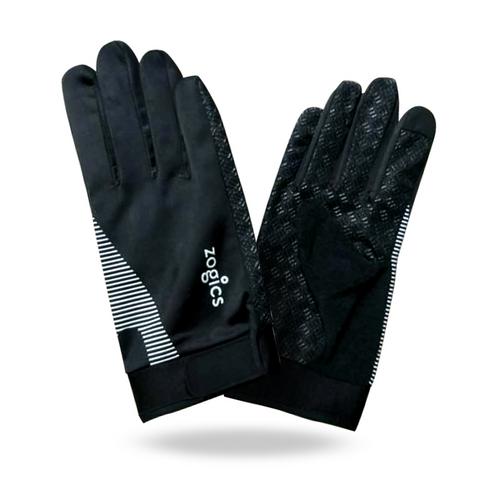 Zogics Full-Finger Vented Exercise Gloves, WKTGLV01