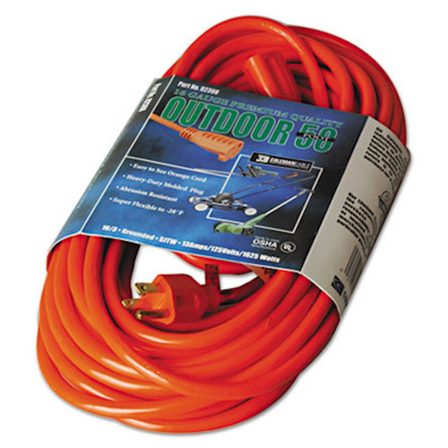 CCI Vinyl Outdoor Extension Cord, 50ft (COC02308)