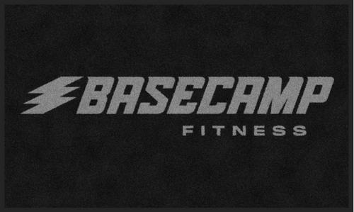 M+A Matting Basecamp Fitness Logo Classic Impressions, Horizontal Interior Wiper Mat