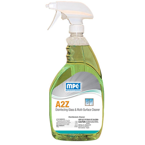 A2Z Disinfecting Glass & Multi-Surface Cleaner, 32oz, MC105027