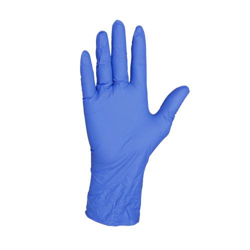 Nitrile Disposable Gloves, Powder Free, Blue, 3.5 Mil, Blue 10 boxes / 100 gloves per box