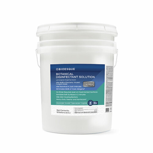 Bioesque Botanical Disinfectant Solution, 5 gallons