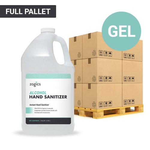 60% Alcohol Gel Hand Sanitizer Pallet