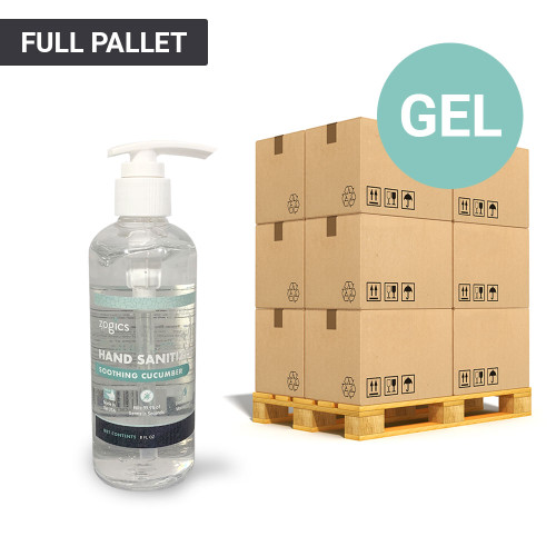 70% Alcohol Gel Hand Sanitizer Pallet, 8oz