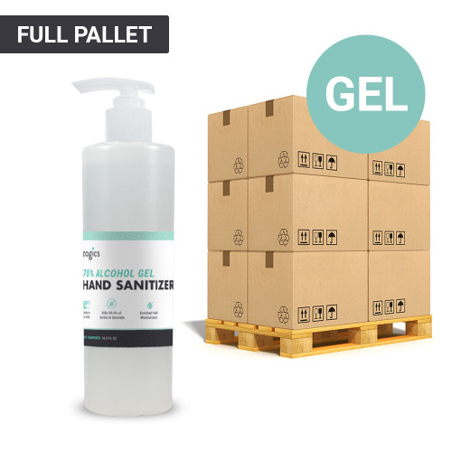 70% Alcohol Gel Hand Sanitizer Pallet, 16oz