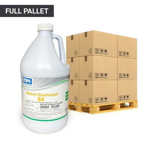 ND64 Commercial Disinfectant Concentrate Pallet