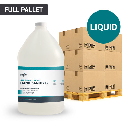 80% Alcohol Liquid Hand Sanitizer Pallet