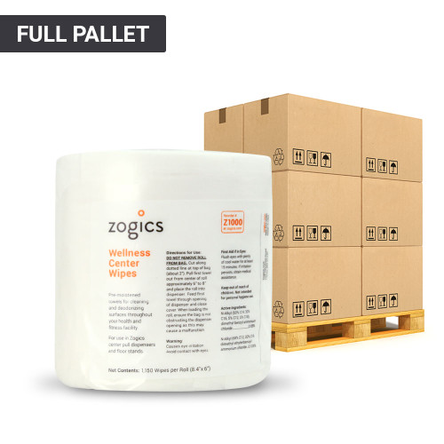 Wellness Center Wipes Pallet (1 Pallet, 36 Cases, 144 Units)
