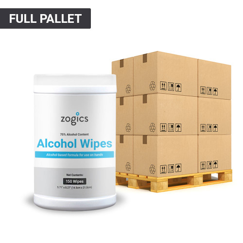 75% Alcohol Surface Wipes Tub, Pallet (1 Pallet, 36 Cases, 432 Tubs)