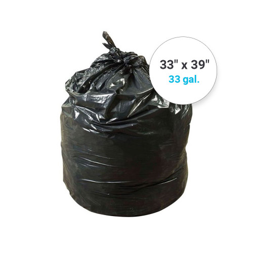 """Revolution Bag Extra Heavy Refuse Can Liner, 33"""" x 39"""" (286777100)"""