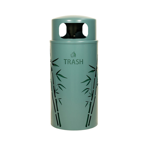 Nature Series Bamboo Trash Receptacle