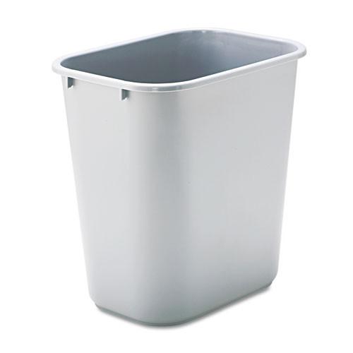 Rubbermaid Commercial Deskside Plastic Wastebasket 7 Gallon