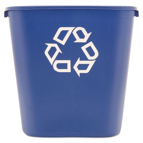 Rubbermaid Commercial RCP295673BE Deskside Recycling Bin