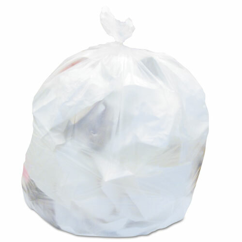 Haritage High-Density Waste Can Liners, 24 x 33, 16 gallon, 8 microns, Natural, 1000/Carton