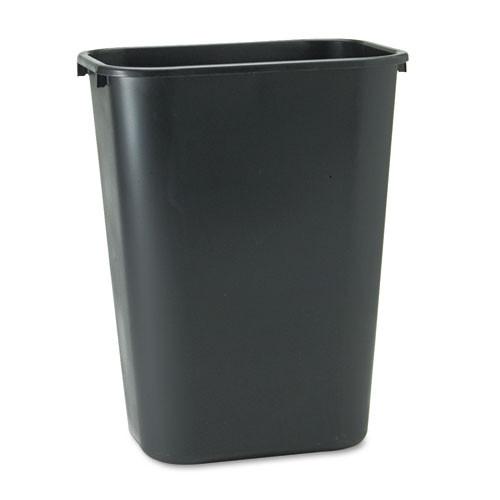 Rubbermaid Commercial Deskside Trash Can 3.5 Gallon Black