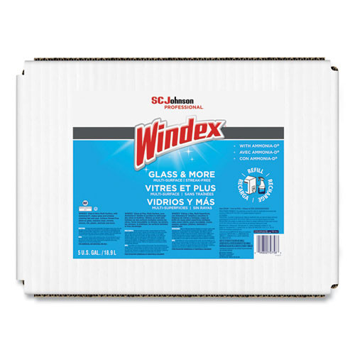 Windex Glass Cleaner with Ammonia-D 5 gallon