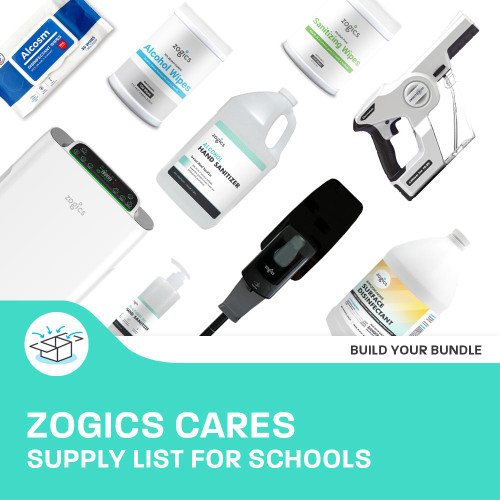 Zogics CARES Supply List for Schools