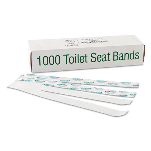Bagcraft Sani/Shield Printed Toilet Seat Band