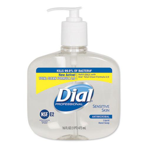 Dial DIA80784 Antimicrobial Liquid Soap