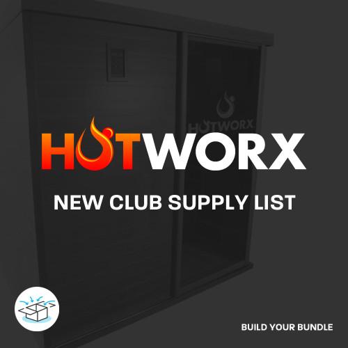 Hotworx New Club Supply List