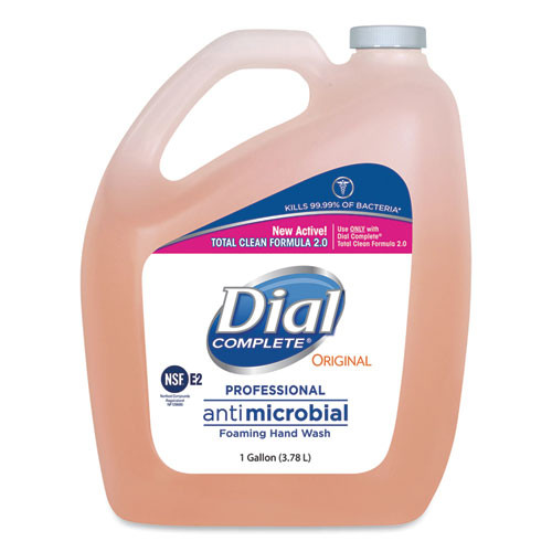 Dial Professional Antimicrobial Foaming Hand Wash 1 gallon Bottle