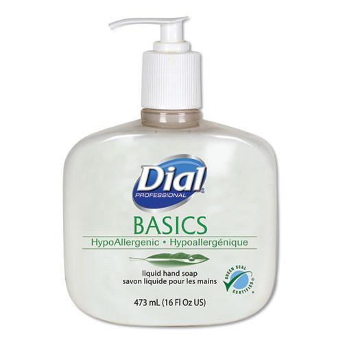 Dial DIA06044 Basics Liquid Hand Soap Mild Soap
