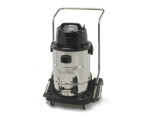 Powr Flite Wet Dry Vacuum 20 Gallon Dual Motor with Stainless Steel Tank