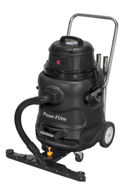 Powr Flite Wet Dry Vacuum 20 Gallon with Poly Tank and Tool Kit