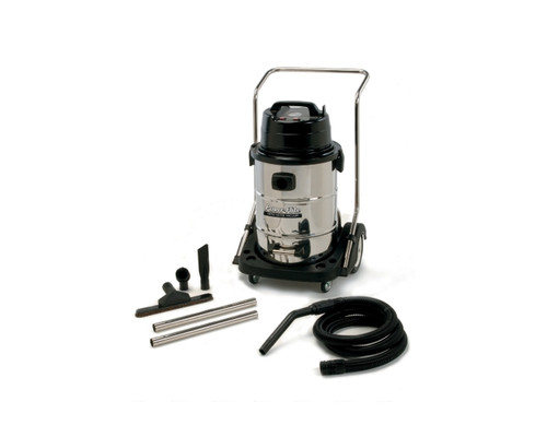 Powr Flite Wet Dry Vacuum 20 Gallon with Stainless Steel Tank and Tools
