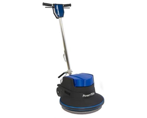 """Powr-Flite Millennium Floor Machine With Sandpaper Driver 17"""" 1.5 HP"""