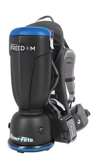 Powr Flite Comfort Pro Freedom Cordless Backpack Vacuum Harness & Tools