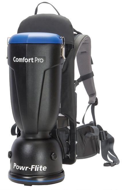 Powr Flite Comfort Pro Backpack Vacuum - 6 Quart