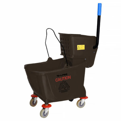 36 Quart Mop Bucket & Side Wringer Combo